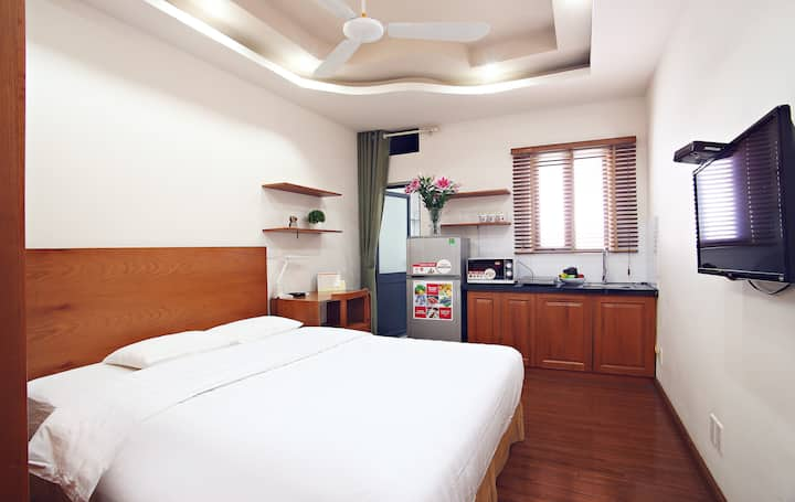 Cheap Studio Apartment at Duy Tan Street, Cau Giay