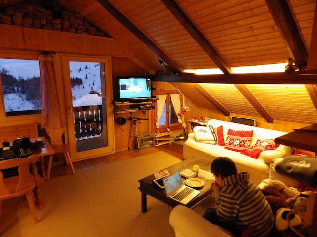 Ferienwohnung in Innerarosa - Arosa - Leilighet