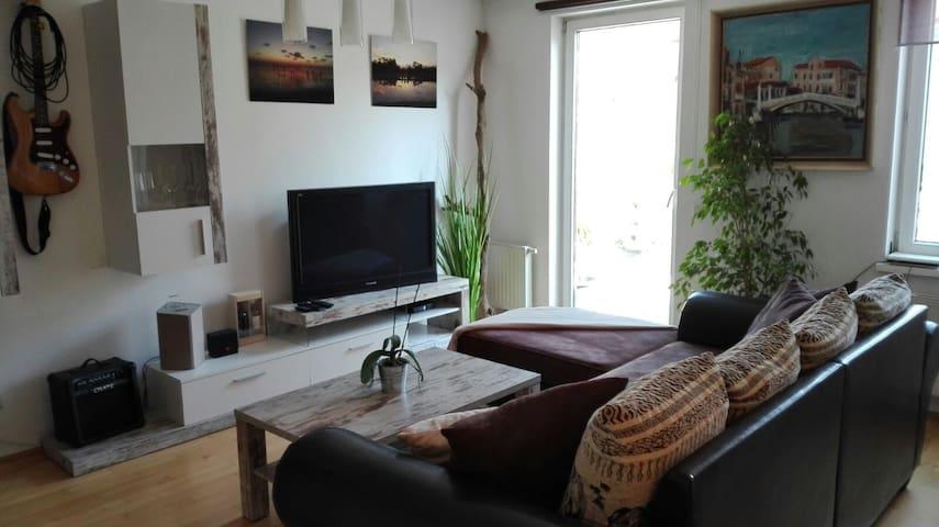 bright and spacious mini loft plus 10 qm terrace