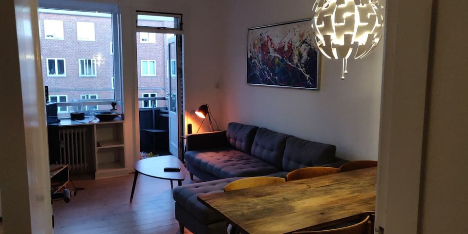 Room in apartment close to central Copenhagen