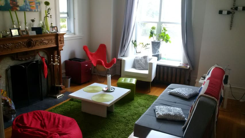 Cosy One Bedroom Apartment, Central - Ottawa - Apartemen