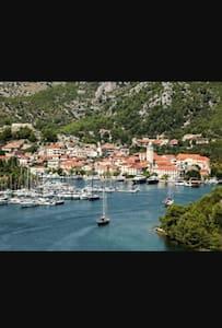 Old town,nacional park,sea,beach - Skradin - Apartament