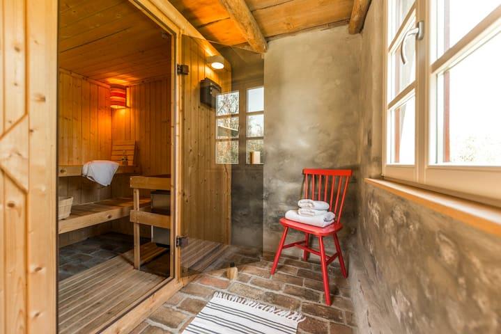 Romantischer Josephinenhof mit Kamin und Sauna