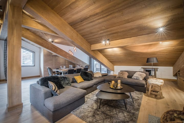 New chalet in the heart of the village of Praz