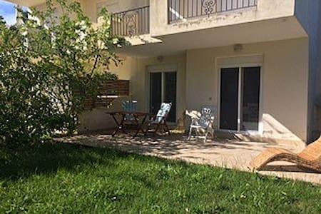 Stylish Family Villa with garden - Kriopigi