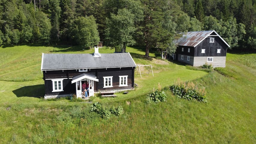 Solhjell - farmhouse adventure available for rent