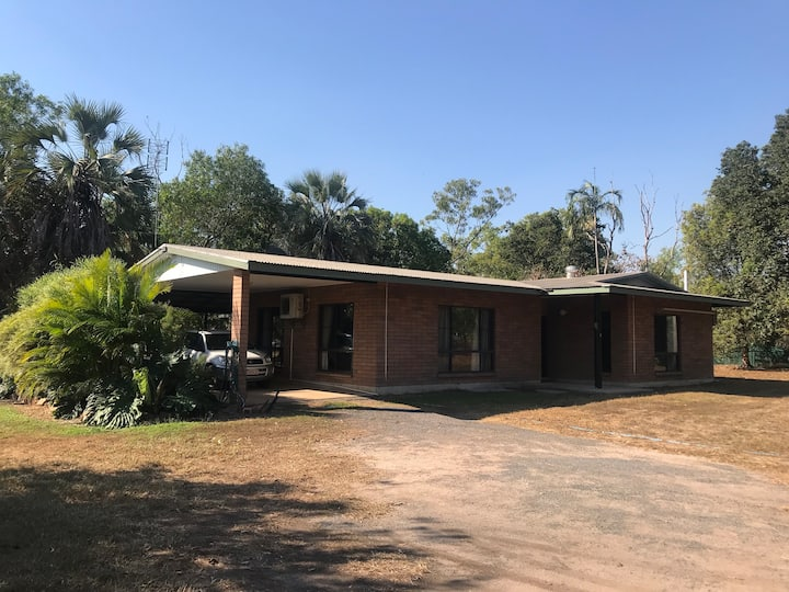 Rural House, 4 bed, 20 min from Darwin & airport