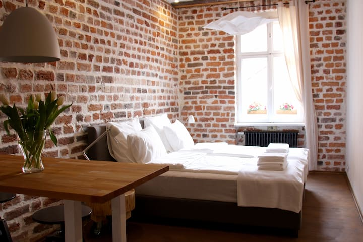 Apartament for 2 people in Old Town - Toruń - Lägenhet