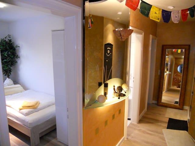 Zimmer mit Innenstadt-Lage und doch im Grünen - Munich