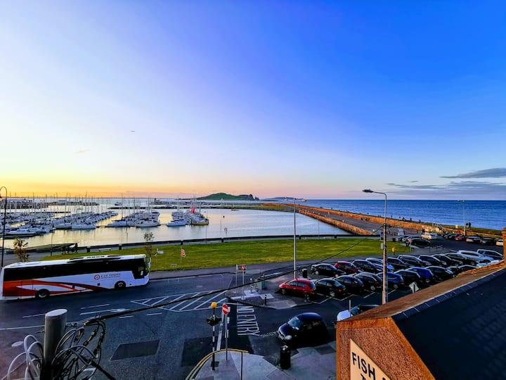 Private Period Apartment overlooking Howth Harbour