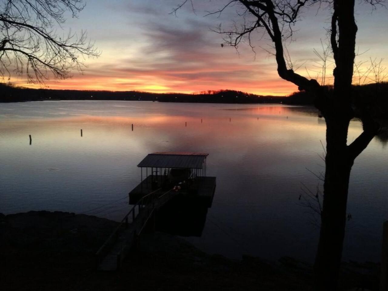 Sunrises are always amazing.