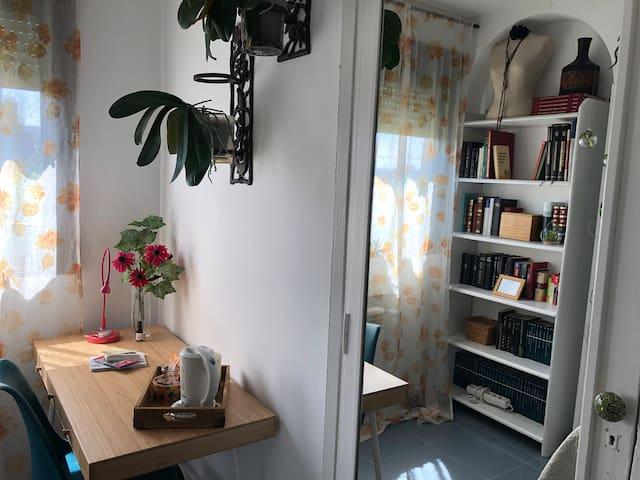 Bonita habitación individual en Casa de Campo
