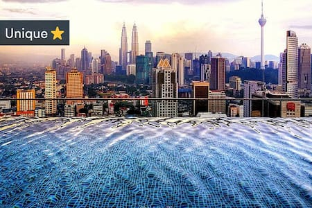 The regalia is newly built apartment, It is very secure and It is very clean. Located in Center of Kuala lumpur, accessible to every places using train station, next to Putra shopping mall.  Famous because of it's stunning pool@roof with tower view.