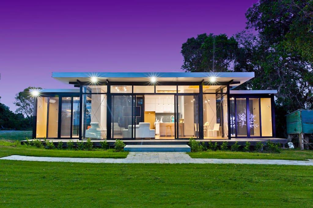 Riverside luxury bungalow in affitto a woodville nuovo for Piani di casa del bungalow del sud