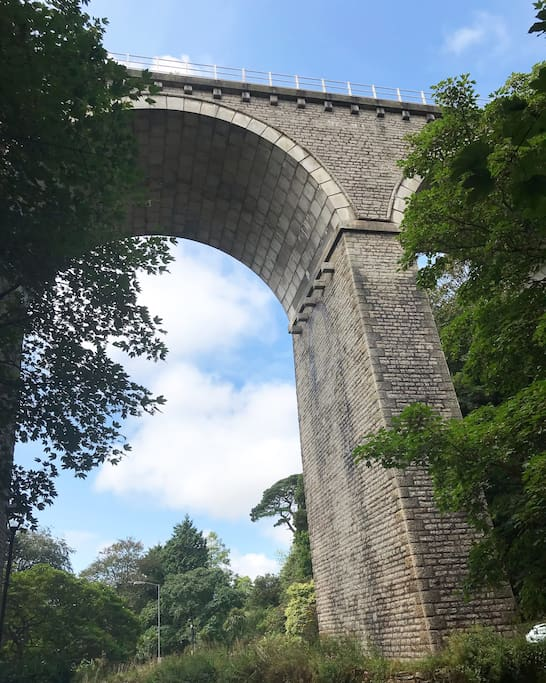 NEWQUAY VIADUCT - Trenance Gardens  Another great sight, short scenic walk from the bottom of the road.