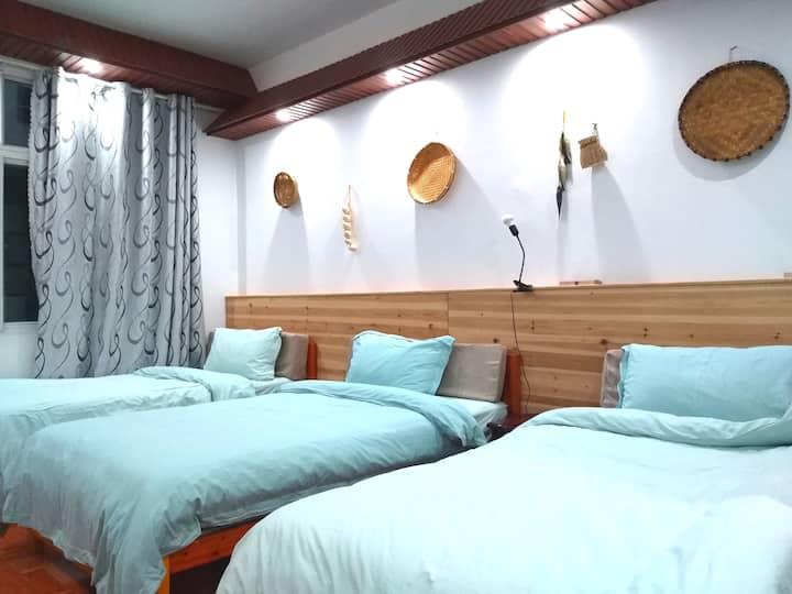温汤古井泉街附近5房10人旅行套房