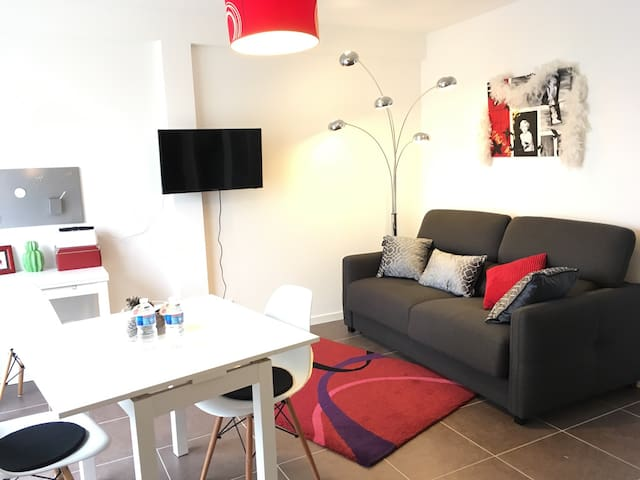 Appartement NEUF, F2 proche centre - Rouen - อพาร์ทเมนท์