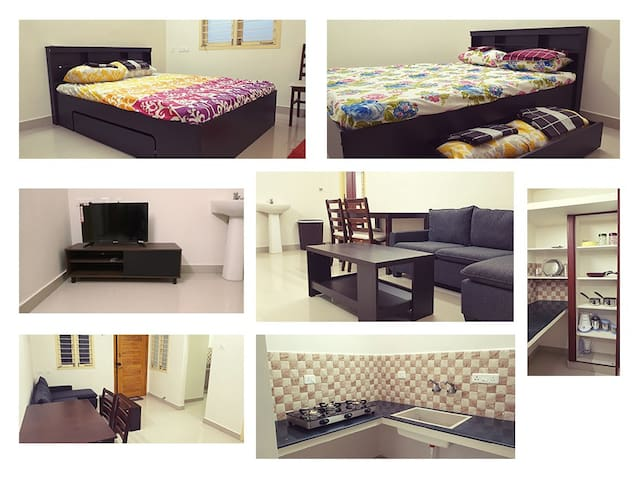 New & Fully Furnished 1bhk / 2bhk @Madipakkam E