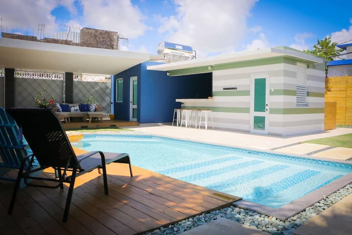BEACHES OPEN! Villa Azure with private pool!