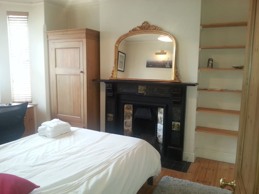 Nightingale Room is spacious and airy