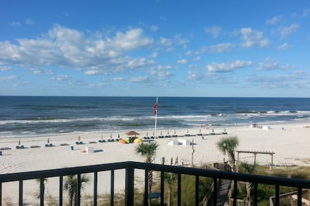 LQQKY HERE! Smack Dab on the Beach - Panama City Beach