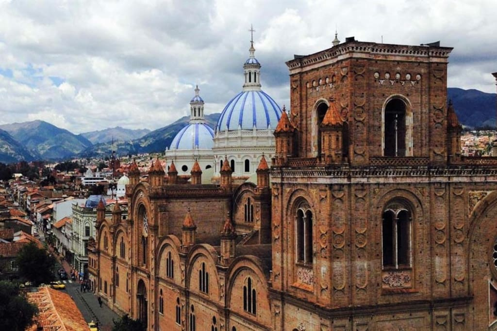 Colonial Cuenca Famous Cathedral