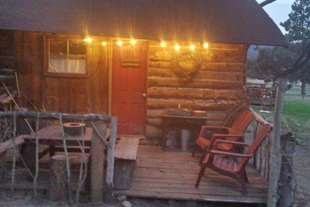 Idlewild Ridge Ranch Historic Cabin Cabins For Rent In