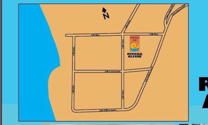 Habitaciones Playa Cuestecomates