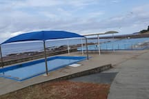 Public Swimming Pool at Shellharbour Village.  3 to 4 min drive from Studio.