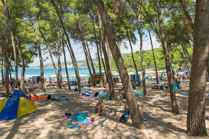 Beach The city where the accommodation is located