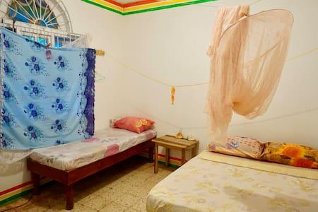 Dorm Room , double bed #1