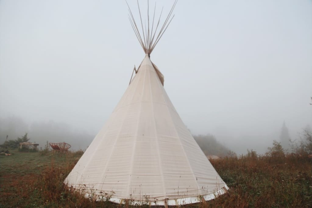 The simplicity of the Tipi.