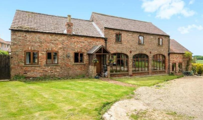 Barn conversion in rural North Yorkshire