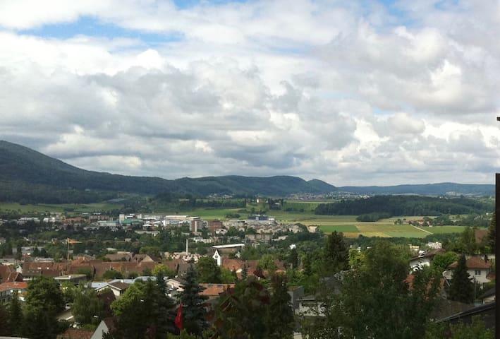 einfache Unterkunft in ruhiger Umgebung - Dornach