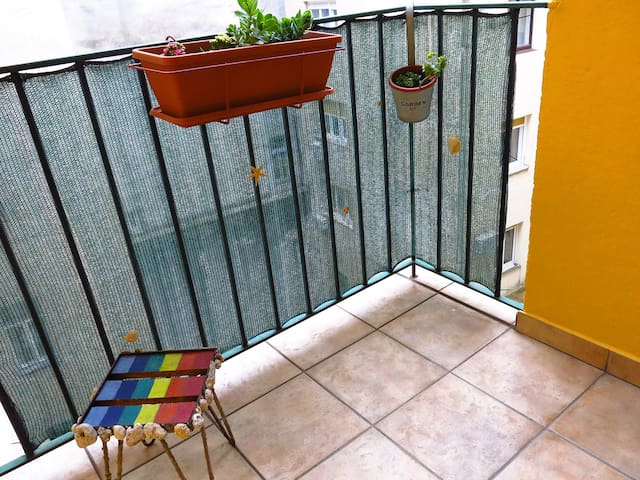 Cosy balcony