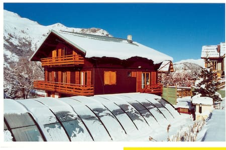 chalet sur piste a Valloire (Savoie) - Валуар - Домик на природе