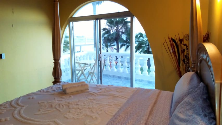 Private Ocean View Room In Beachfront Hacienda #1