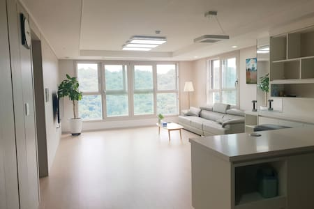 도심 속 리조트, 창원 최고의 New 아파트(35평)에서 따스한 하룻밤을 보내세요