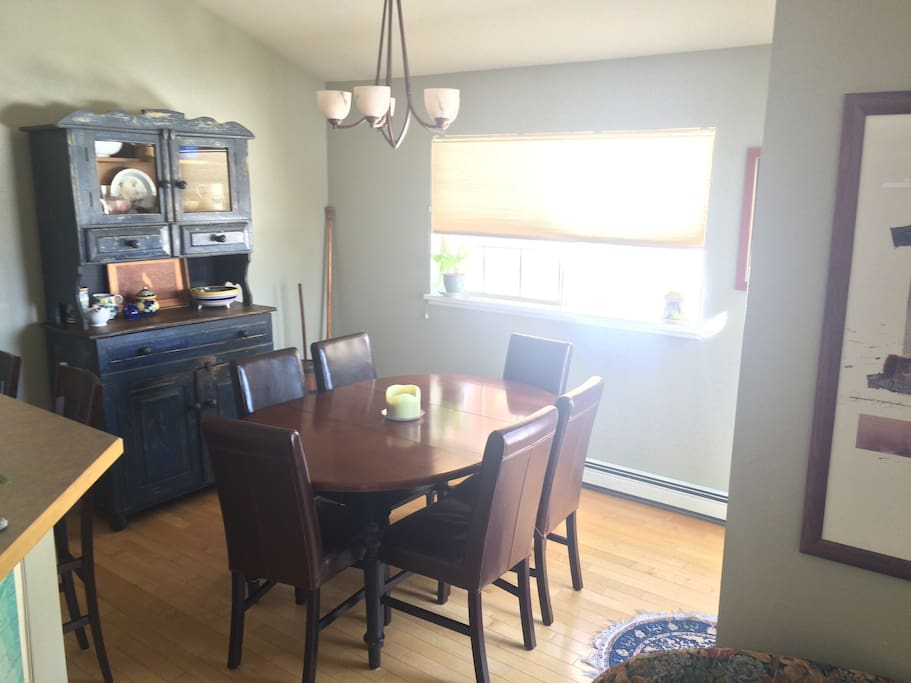 Dining room.  Great for family style dinner and big board or card games (which we have plenty of!).