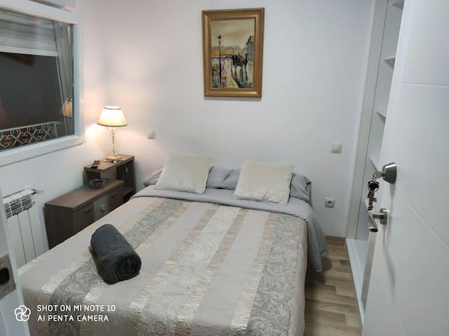 Habitación Moderna en Madrid España.
