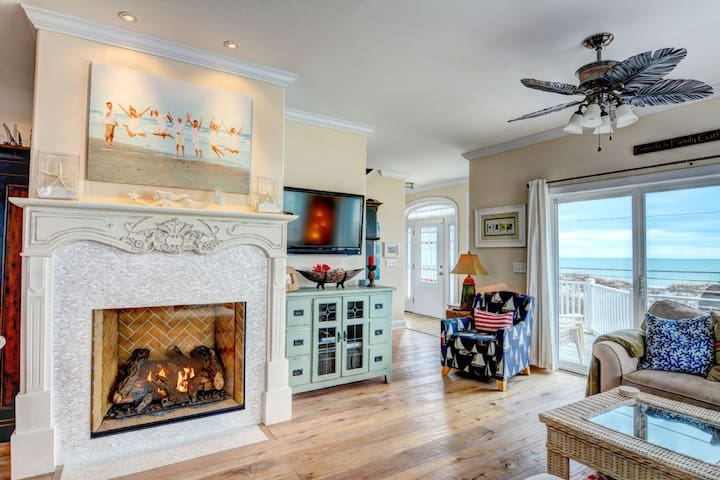Best of Both Worlds-100 Bay Ct. - North Topsail Beach - Casa