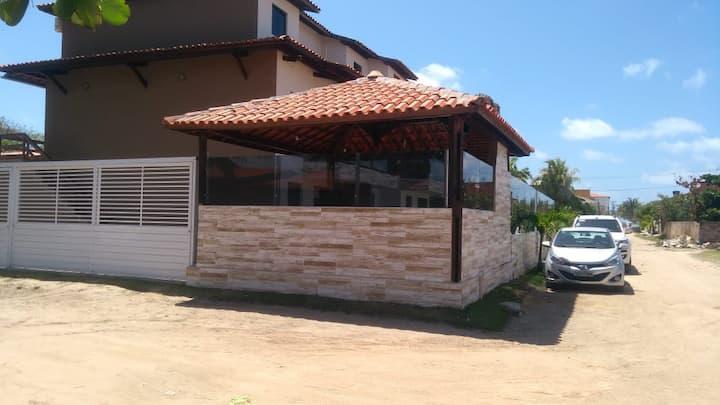 Flat Praia dos Carneiros, 200 mts do mar