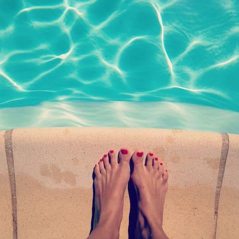Villa calme 100 m², piscine, terrasse ombragée - Villelaure - Dům