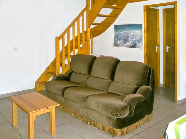 House with 3 bedrooms in Aragnouet, with wonderful mountain view and enclosed garden - 6 km from the slopes
