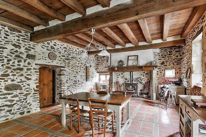 A Lacampagne... maison rénovée bohème chic