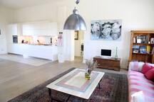 Kitchen in Balla in the upper floor