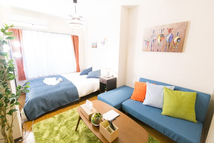 Open sale!3min walk to sta.*4min Shinjuku(新宿)#19 - Setagaya-ku - Huoneisto