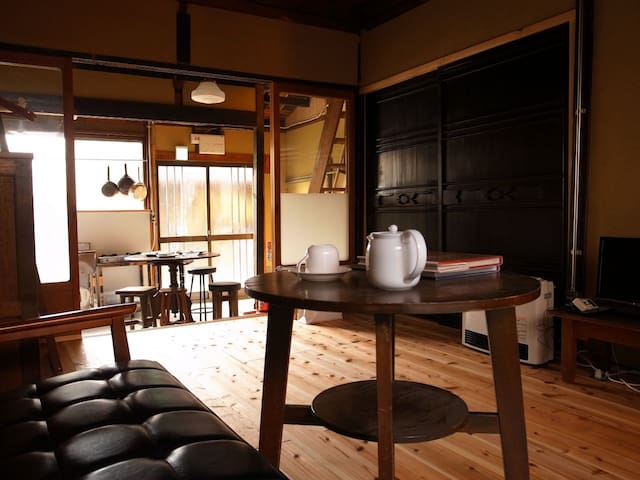 Vintage House in Kyoto for 4 w/WiFi - Kyōto-shi - Rumah