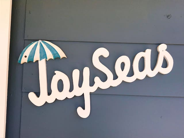 JoySeas a true family beach house filled with memories of old fashioned beach holidays.