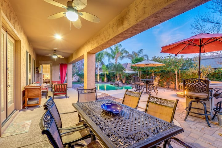 Villa Cabrera a Luxury Chandler Home with Resort Style Backyard!